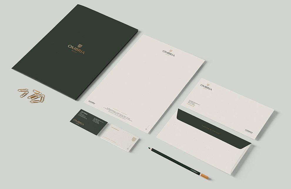 Ombria Resort Branding
