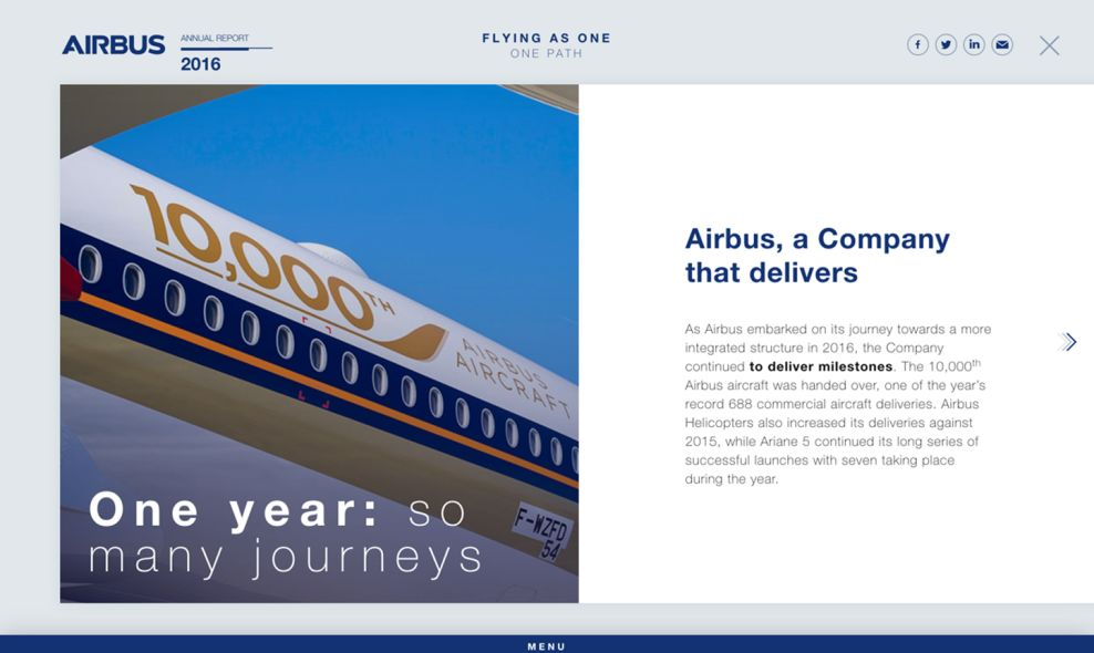Airbus Beautiful About Page