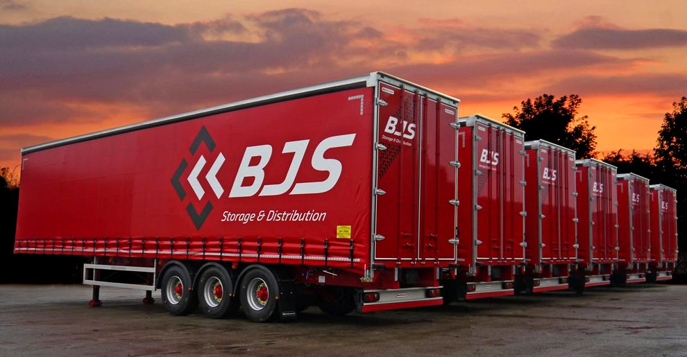 BJS Storage and Distribution Logo Design