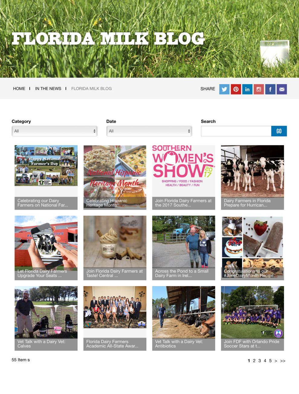 Florida Milk Gorgeous Blog Page
