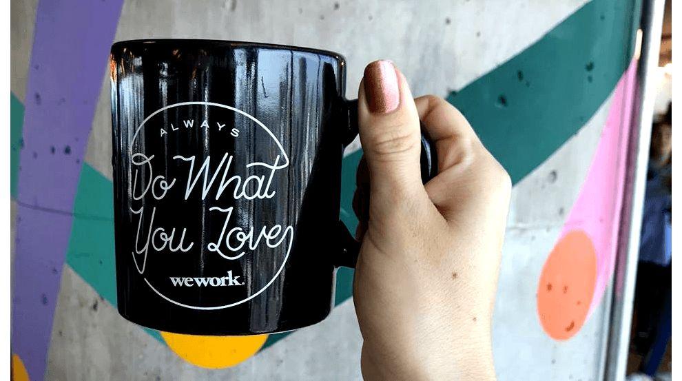 WeWork Logo Design