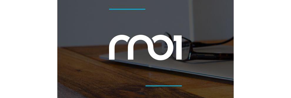 RNO1 Typographic Logo Design