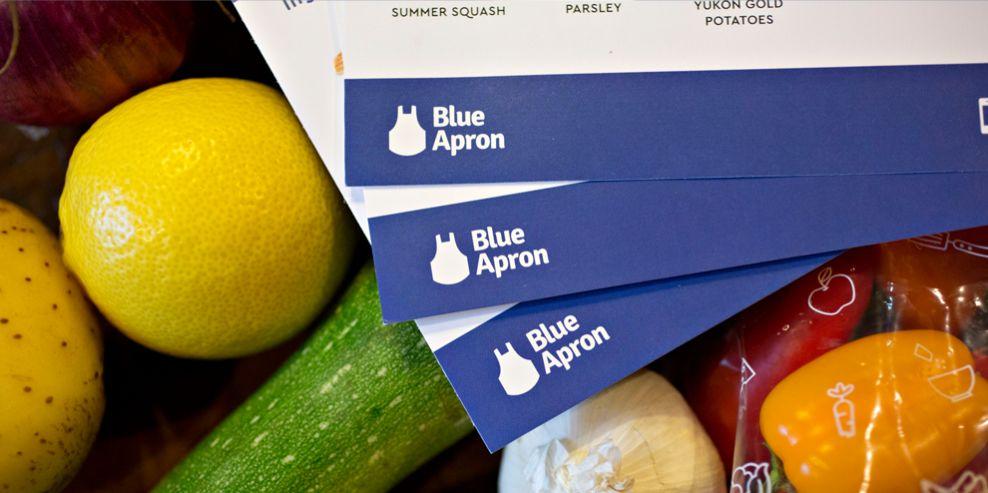 Blue Apron Logo Design