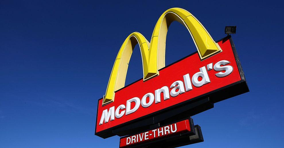 McDonald's Logo SIgn