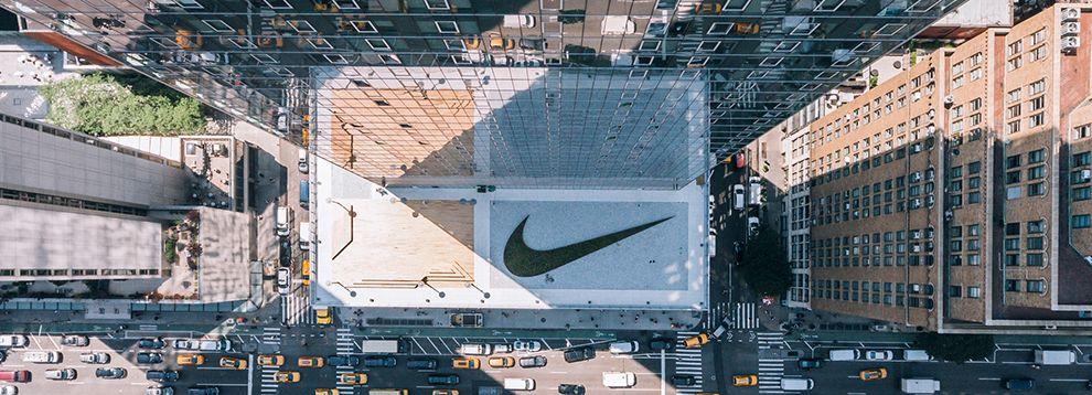Nike Building Logo Design