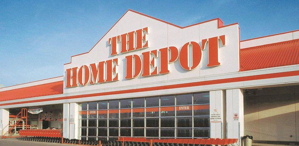 The Home Depot Logo Design