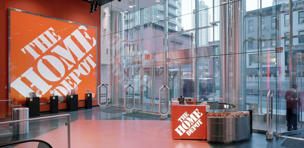 The Home Depot Iconic Logo Design