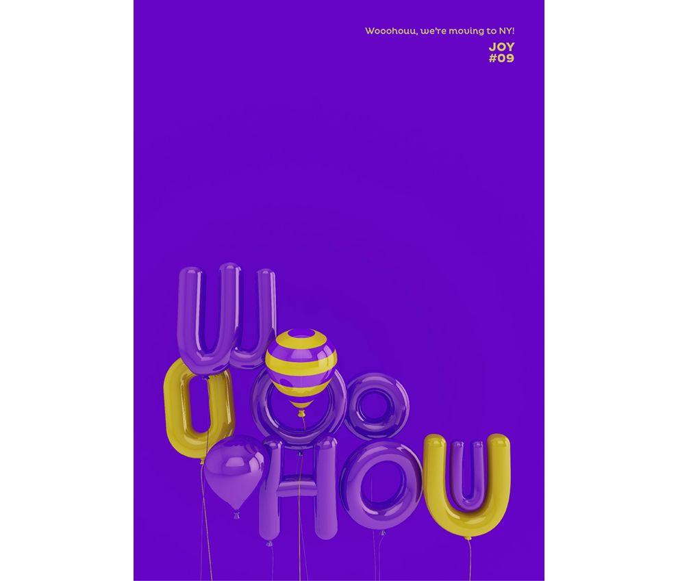 3D Typographic Posters Print Design