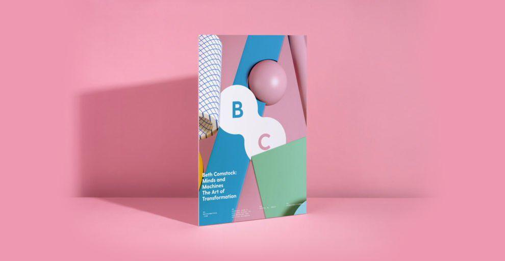 Beth Comstock Colorful Print Design