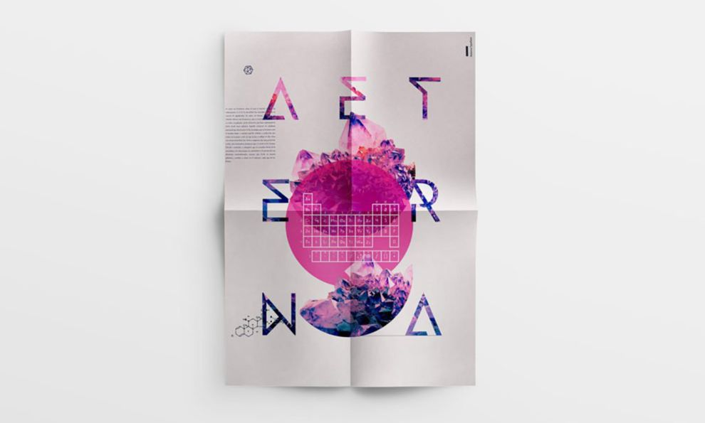 Cool Posters Gradient Print Design