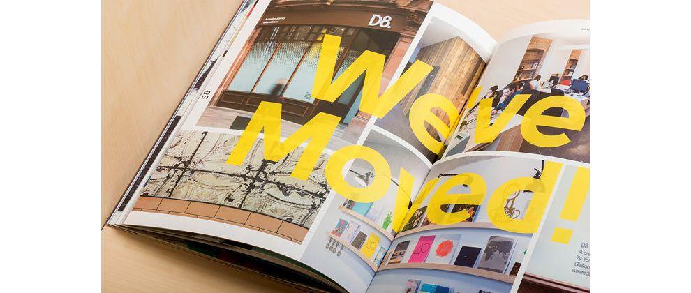 D8 Magazine Vol. Six Creative Print Design