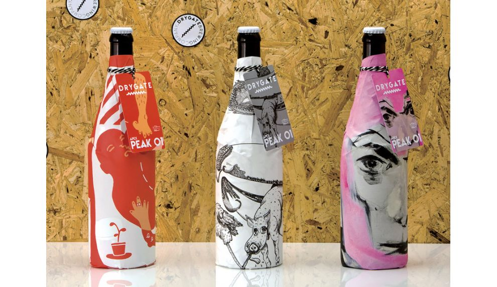 Drygate Beer Exceptional Package Design