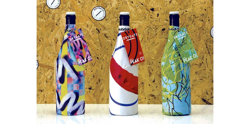 Drygate Beer Package Design