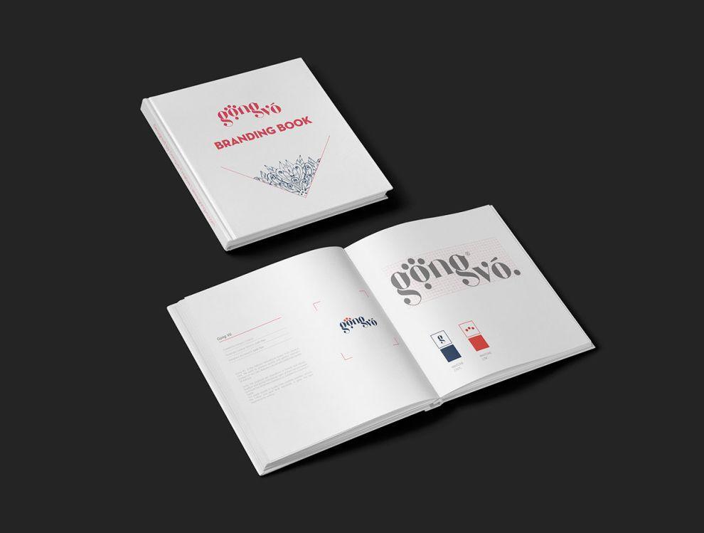 Gong Vo Branding Beautiful Print Design