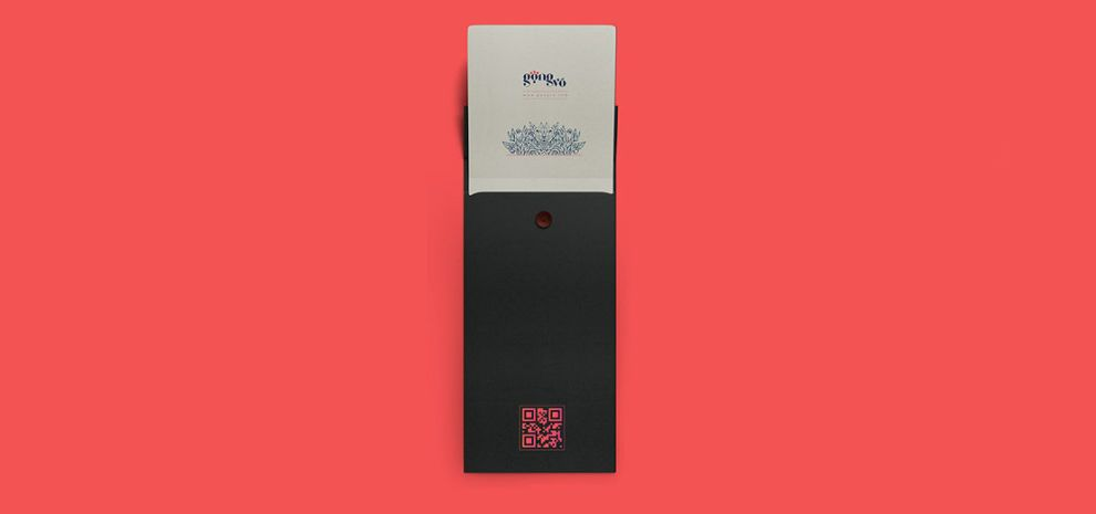 Gong Vo Branding Great Print Design