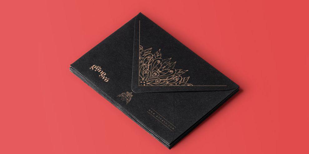 Gong Vo Branding Elegant Print Design