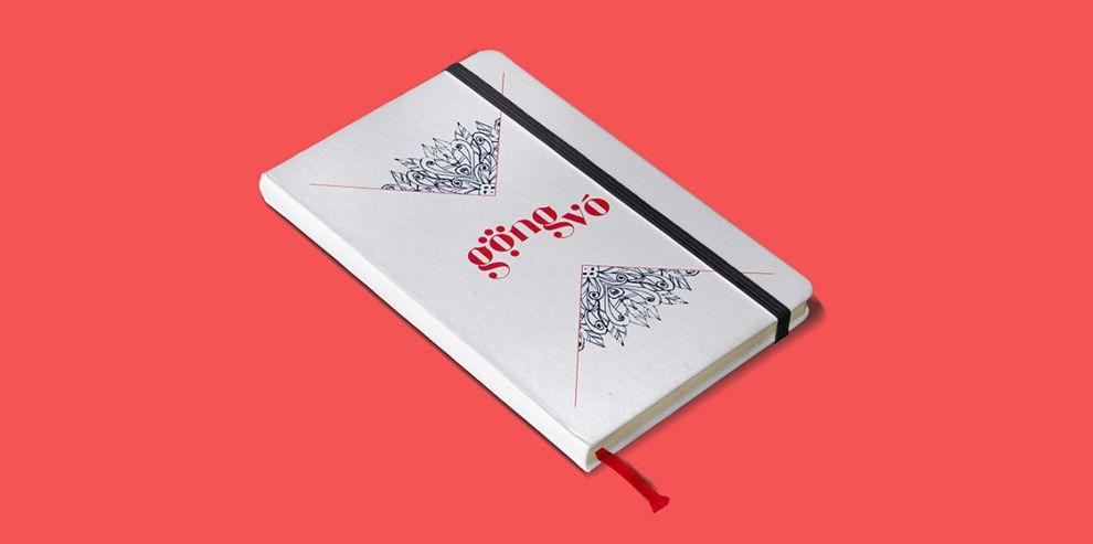 Gong Vo Branding Print Design