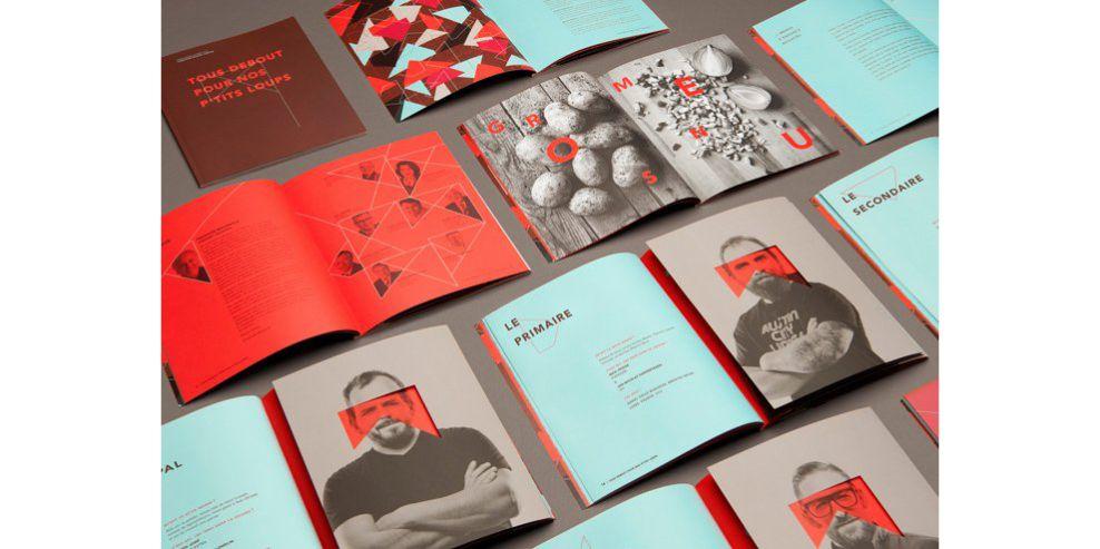The Maison Théâtre Book Great Print Design