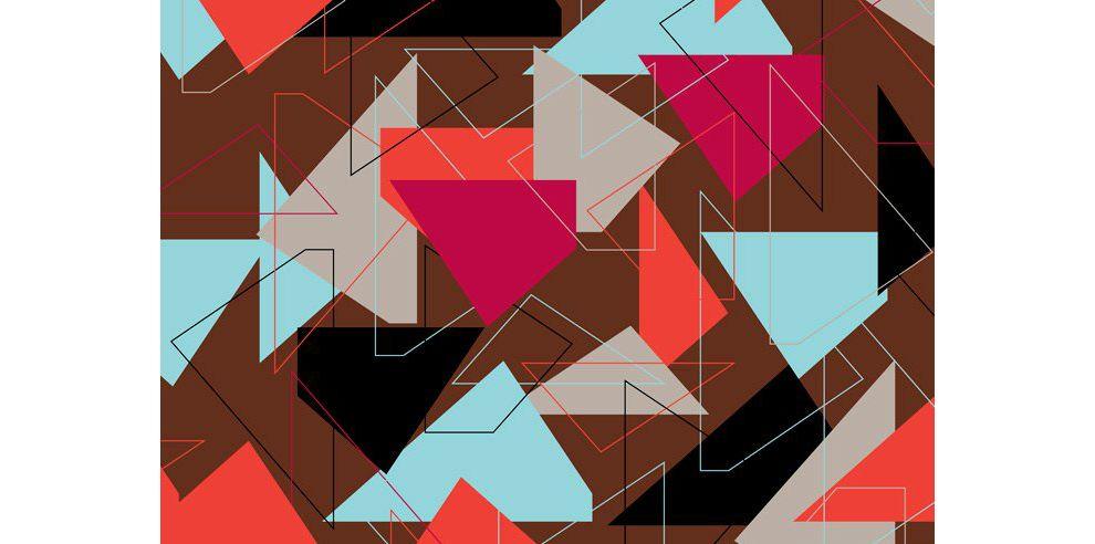 The Maison Théâtre Book Geometric Print Design