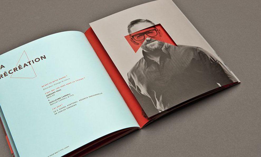 The Maison Théâtre Book Creative Print Design