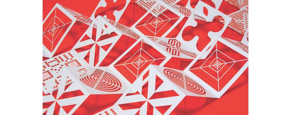 Zipeng Zhu Holiday Card Creative Print Design