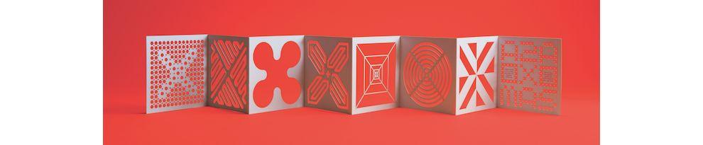 Zipeng Zhu Holiday Card Playful Print Design