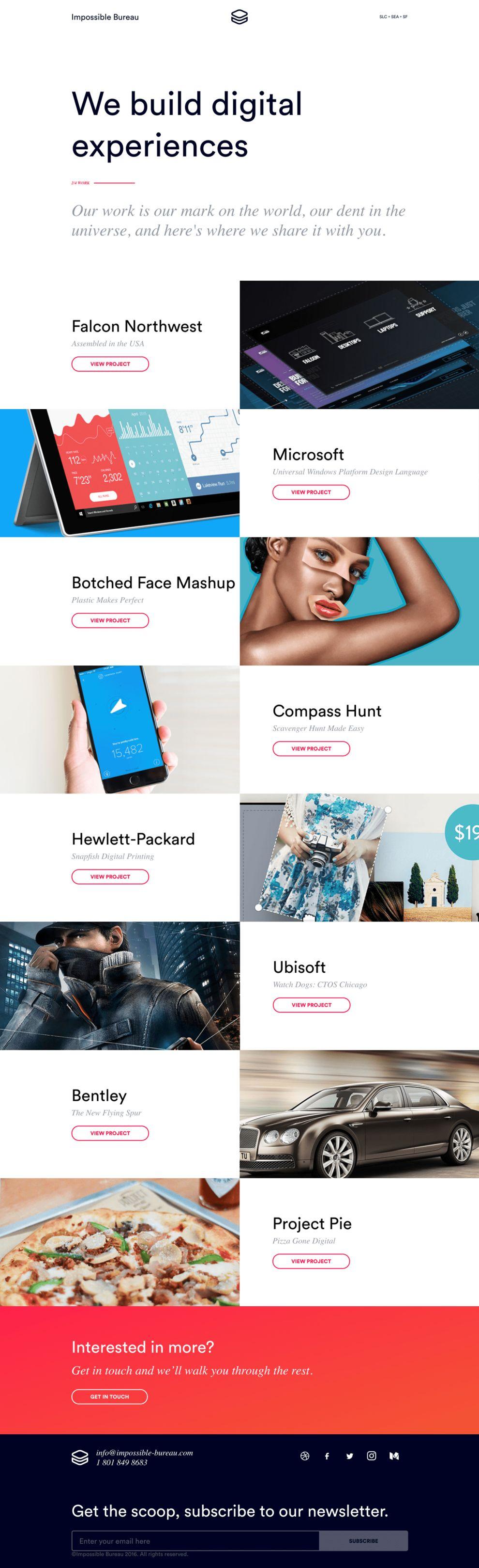 Impossible Bureau Beautiful Product Page