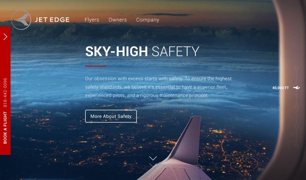 Jet Edge Awesome Homepage
