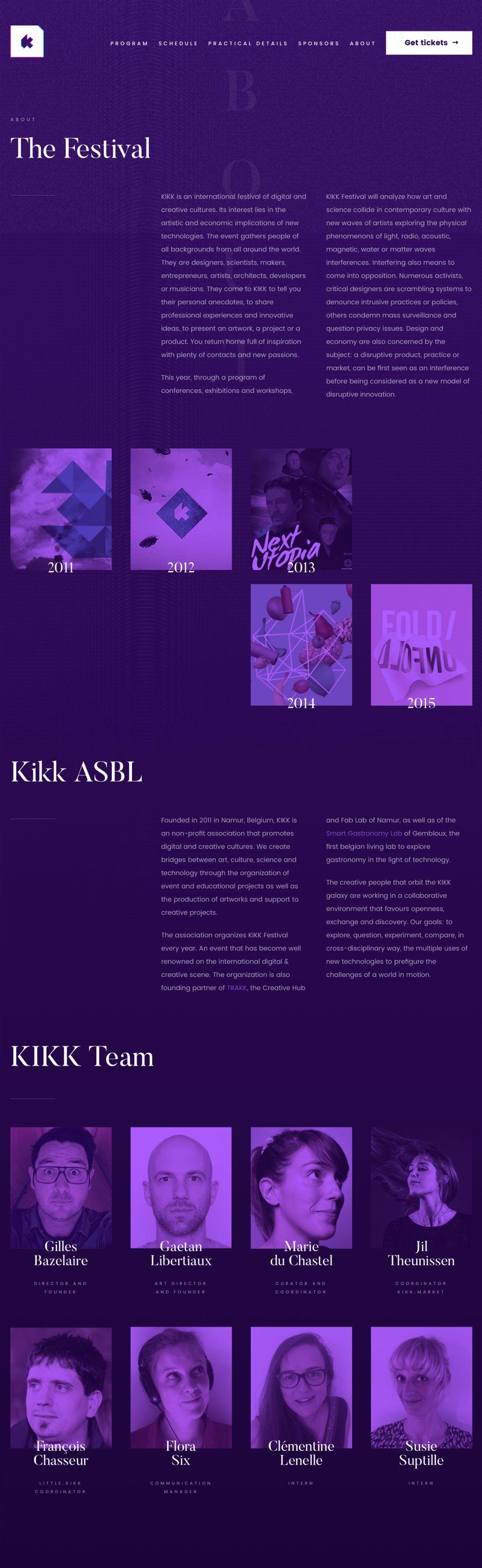 Kikk Festival (slide 2)