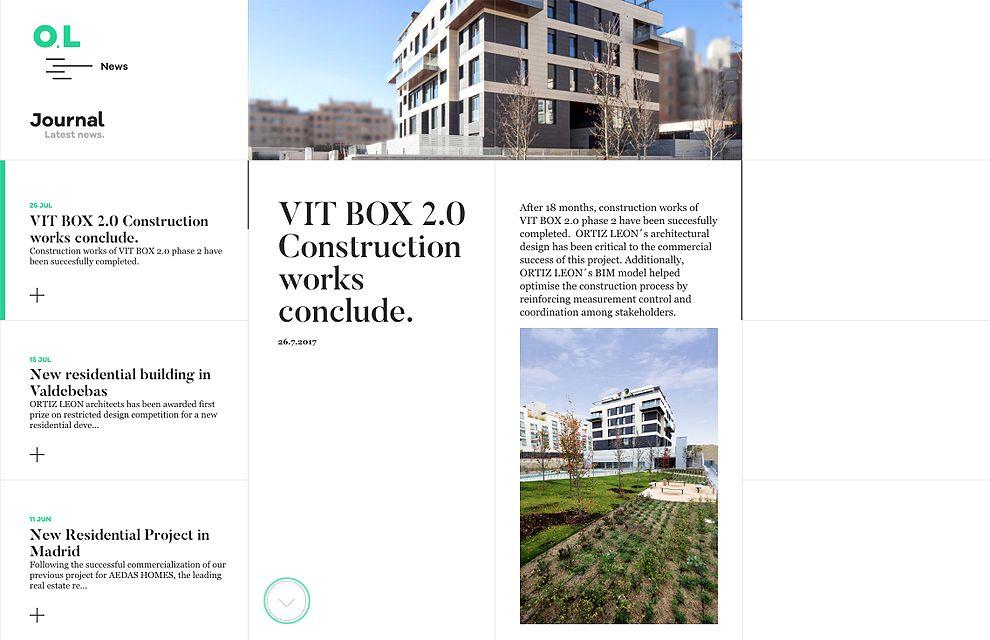 Ortiz León User-Friendly Website Design