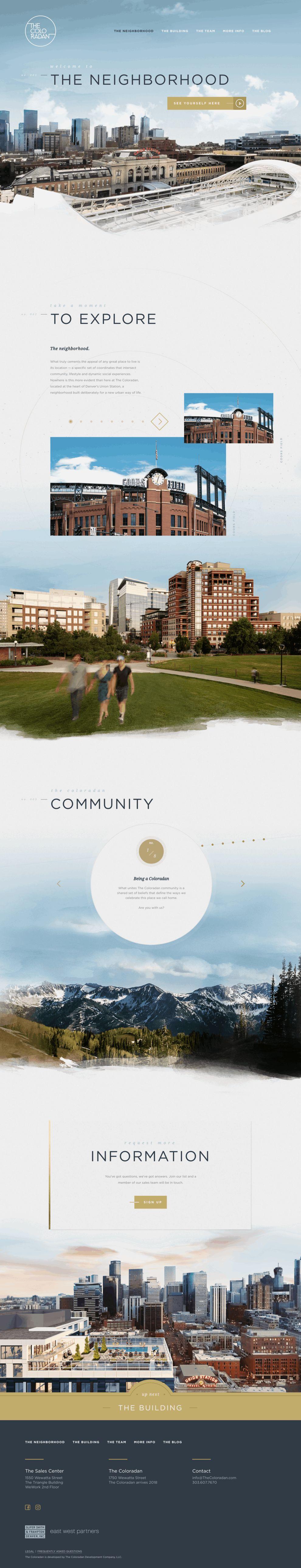 The Coloradan Beautiful Homepage