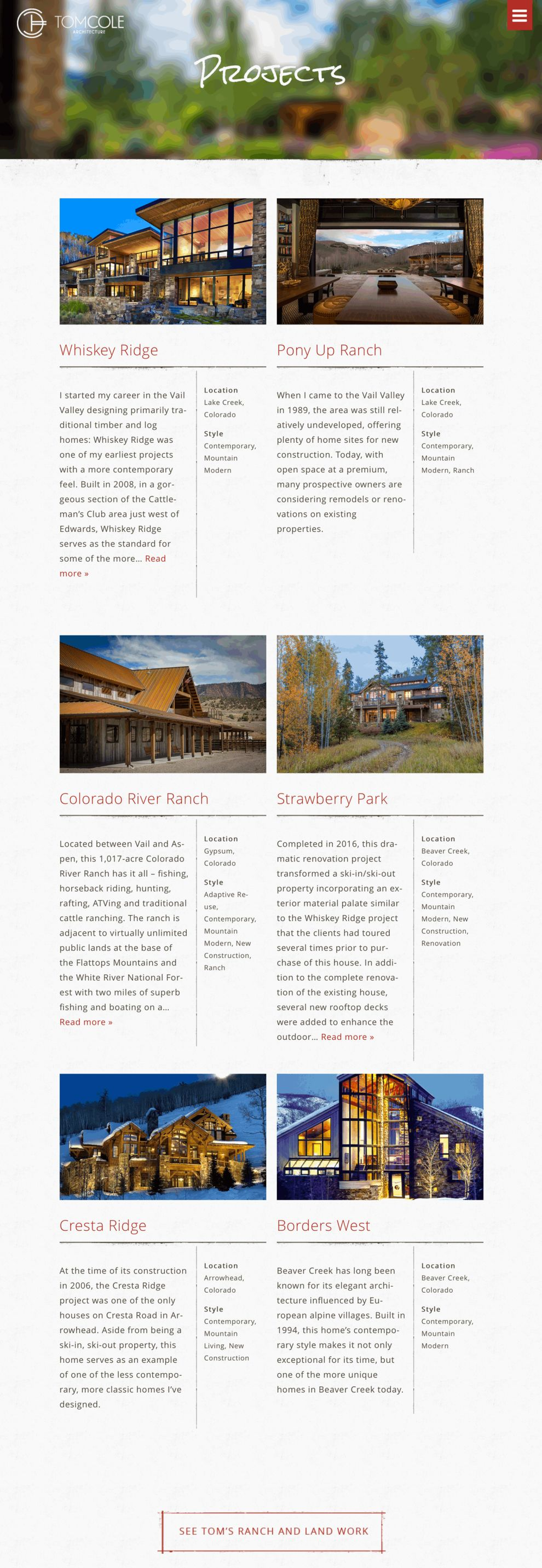 Tom Cole Architect Clean Portfolio