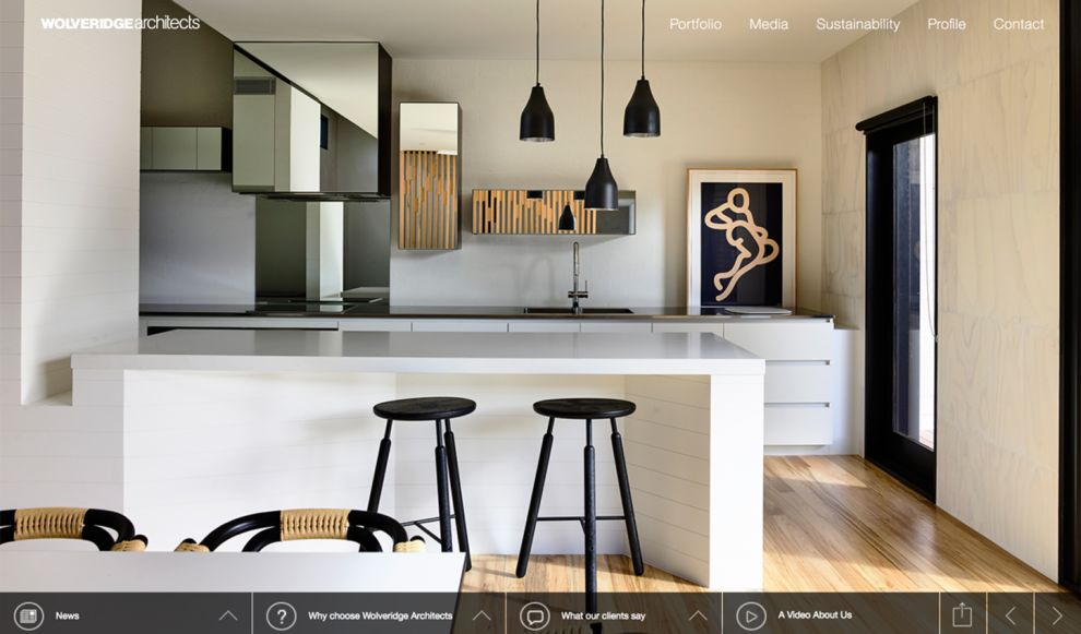 Wolveridge Architects Corporate Homepage