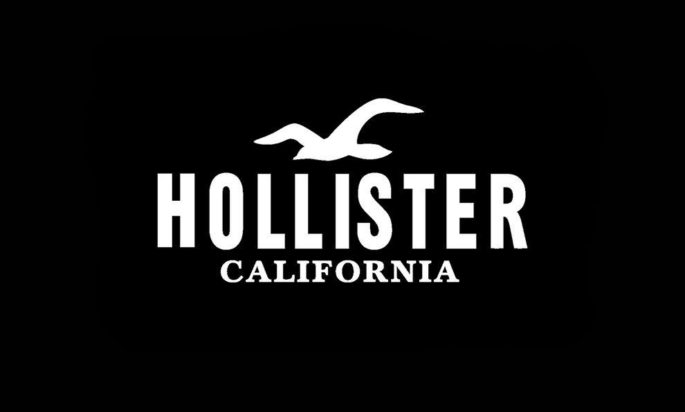 Hollister Simple Logo Design