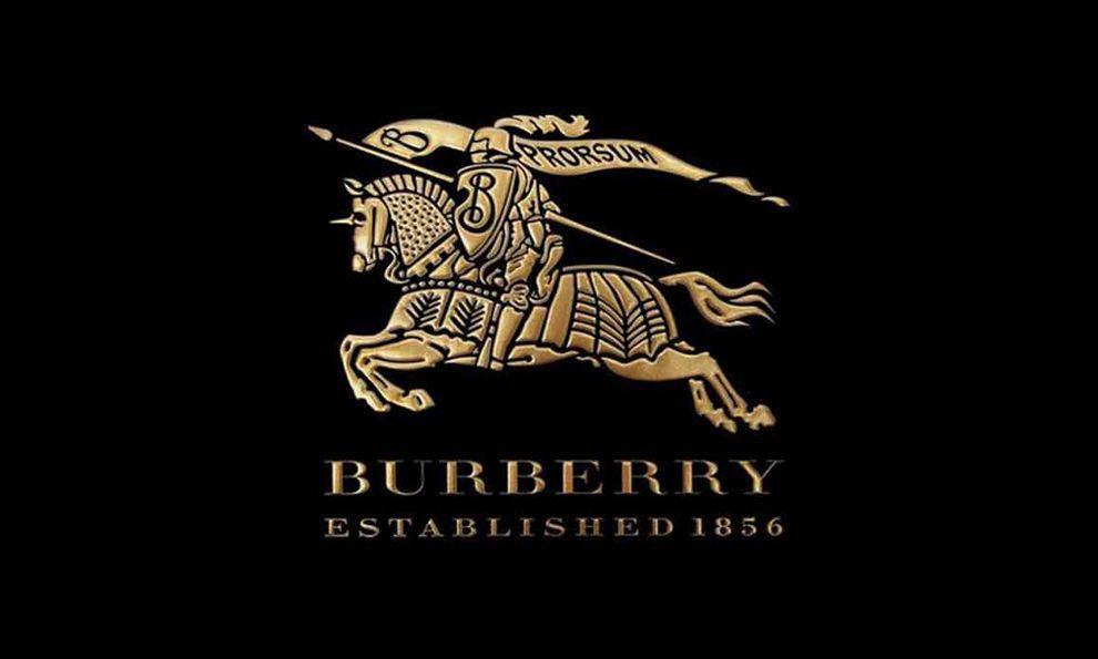 Burberry Classic Logo Black Gold