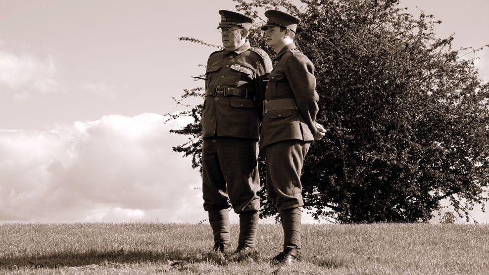 British Soldiers World War