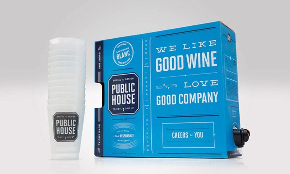 Public House Trendy Package Design