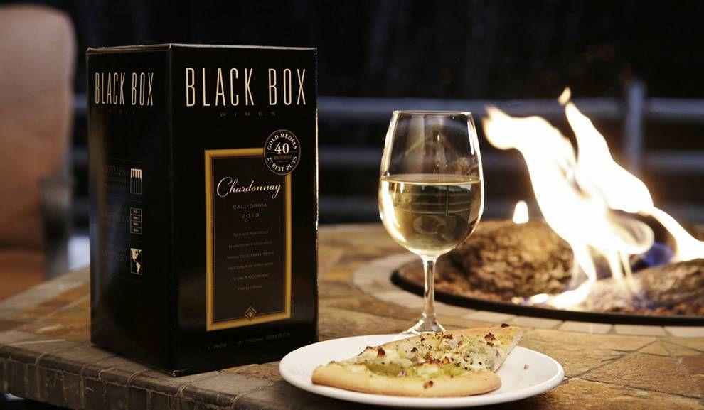 Black Box Wines Elegant Package Design