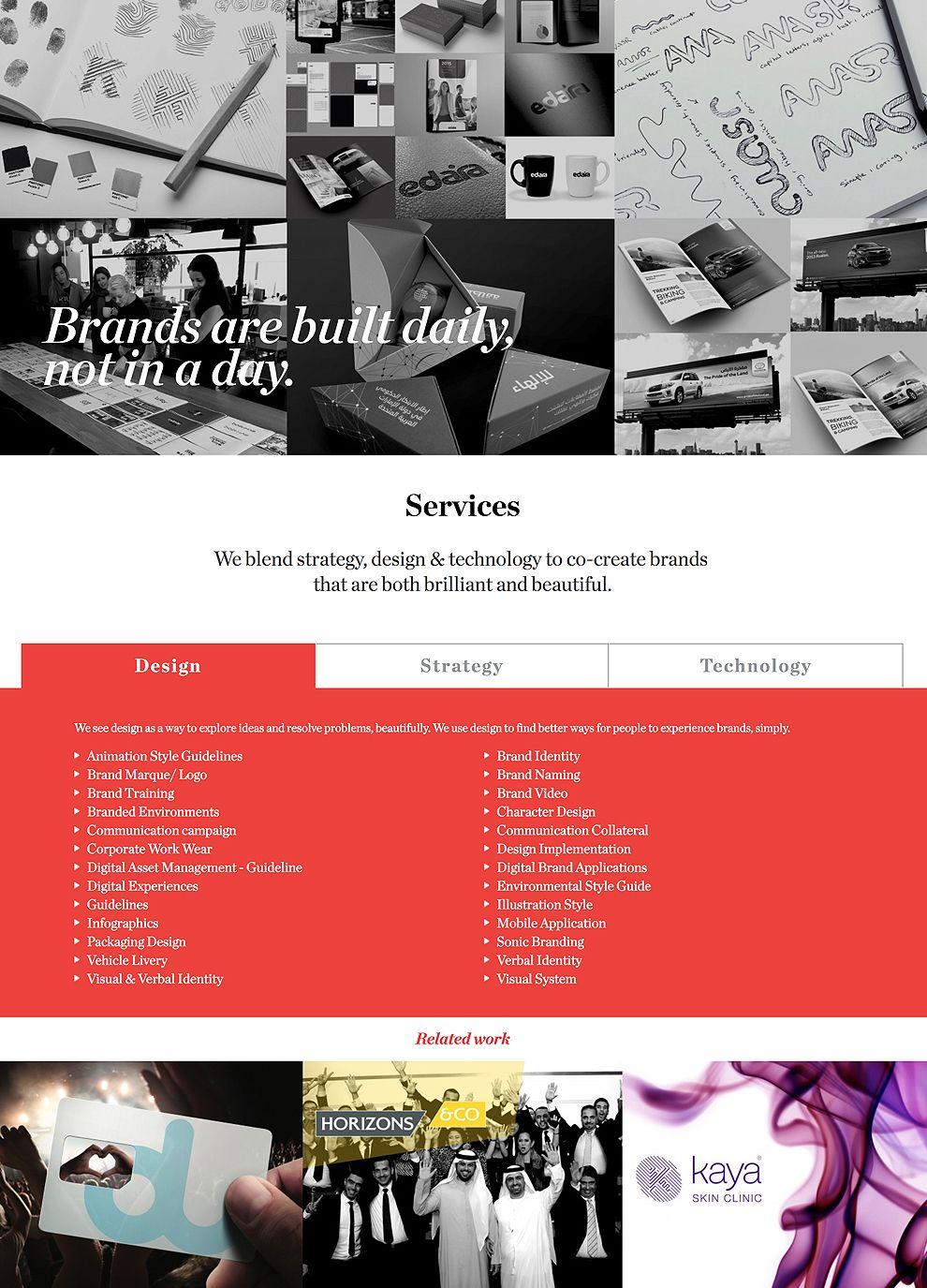 Bellwether Brands Website Design Services