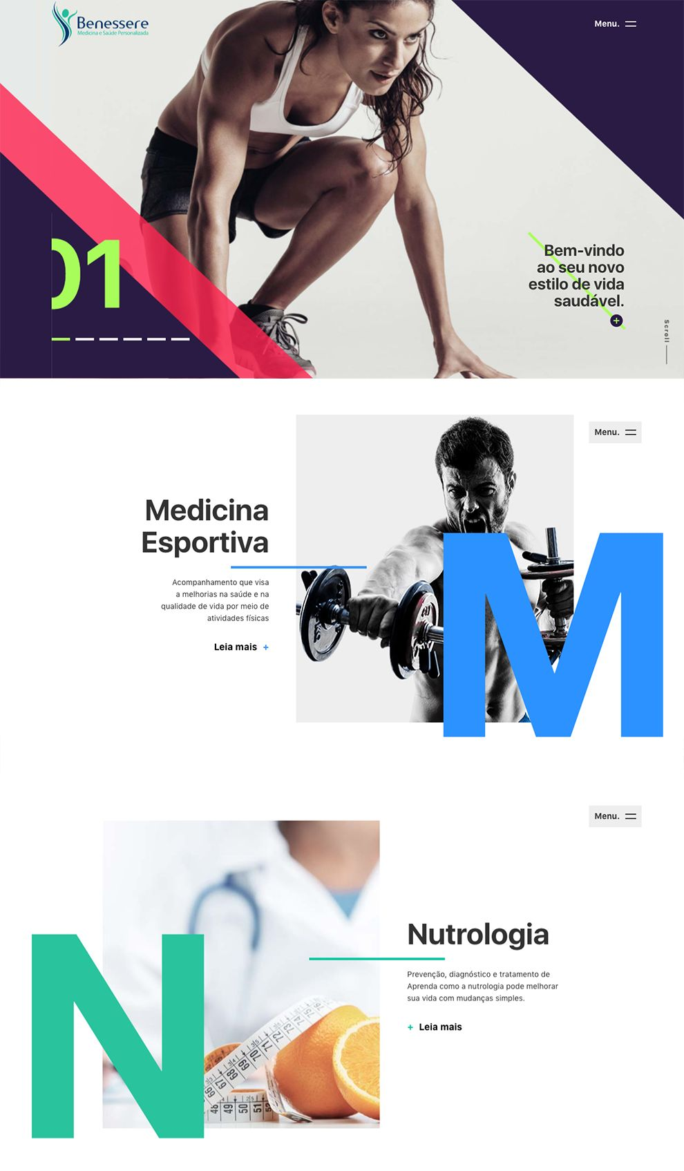 Benessere Clinic Beautiful Homepage