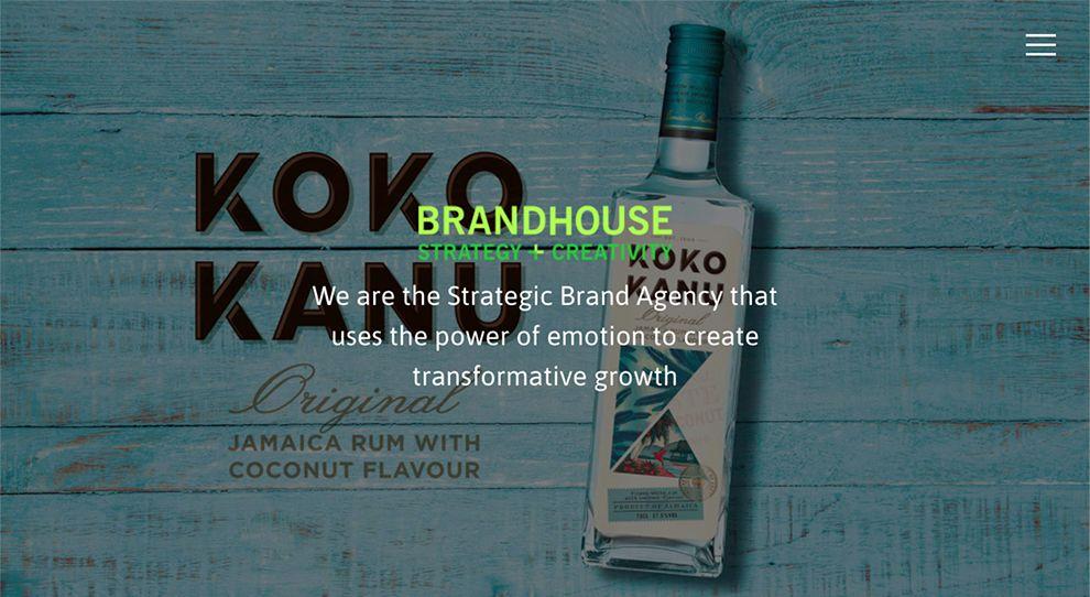 Brand House Beautiful Homepage