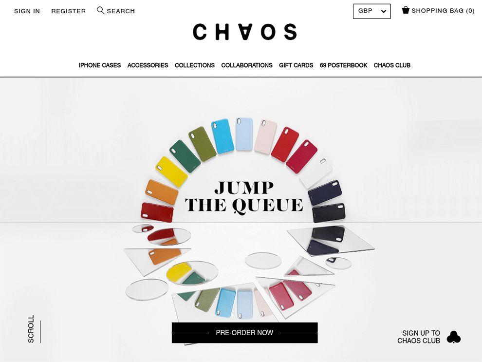 Chaos Clean Website