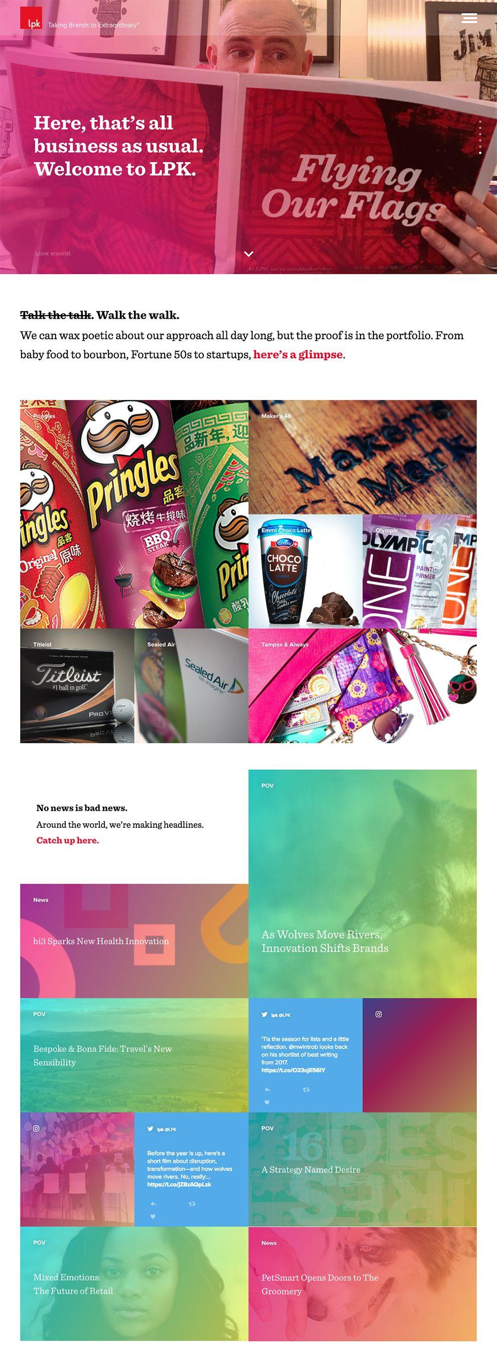 LPK Colorful Homepage