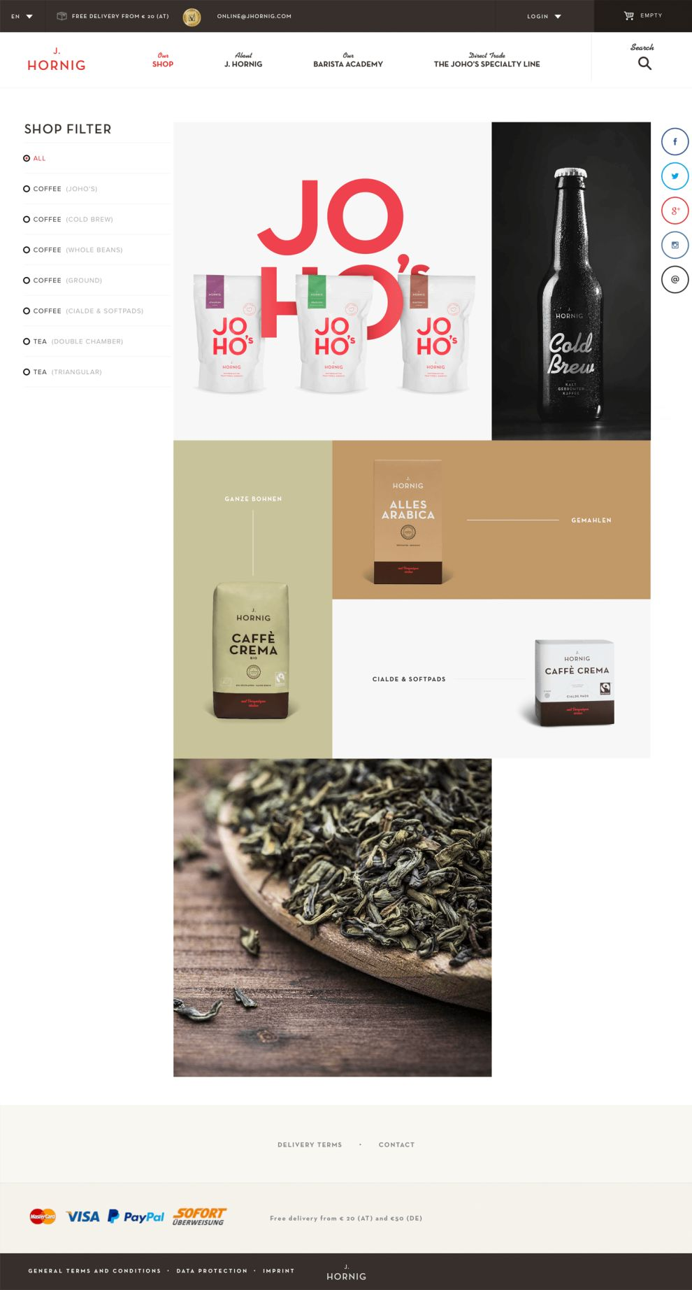 J. Hornig's Beautiful Product Page