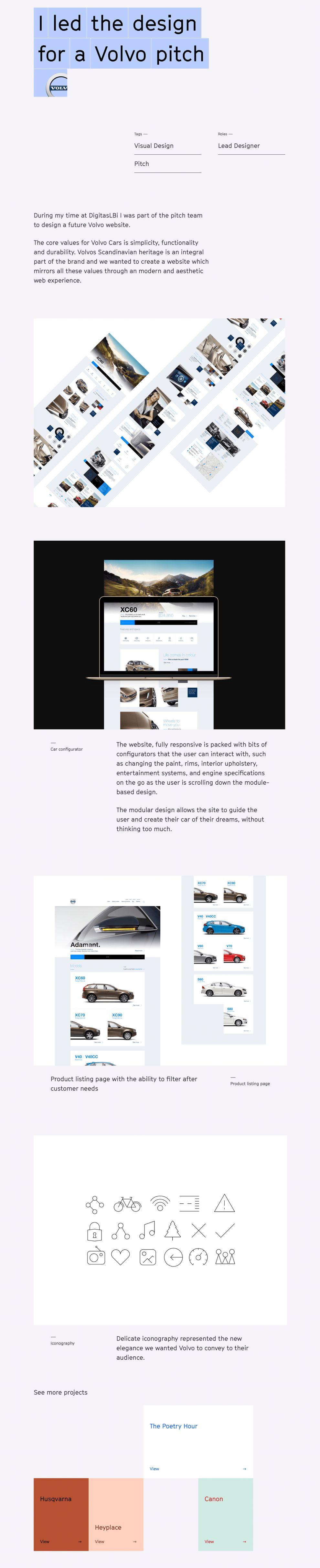 Sebastian Graz Minimal Product Page