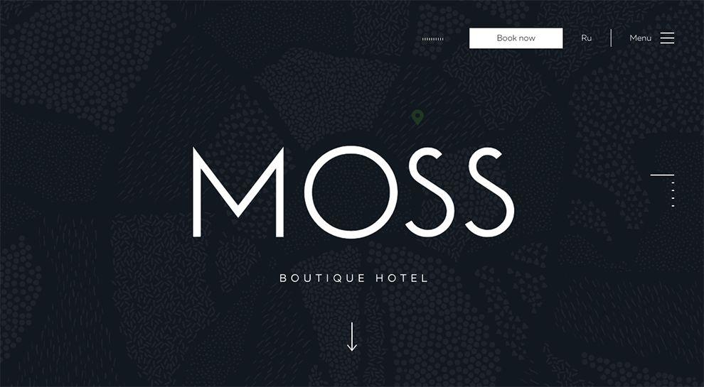 Moss Hotel Elegant Homepage