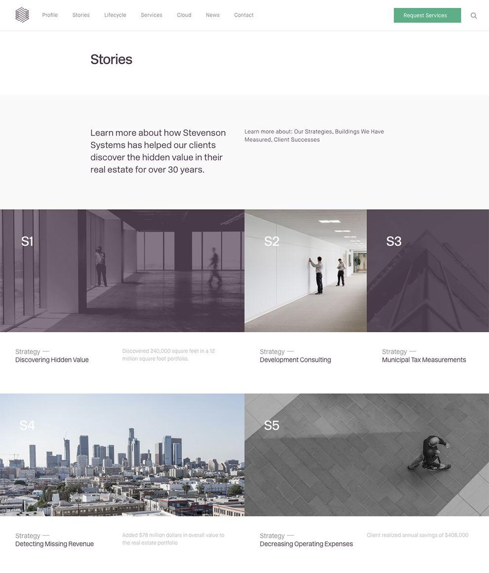 Stevenson Systems Elegant Testimonials Page