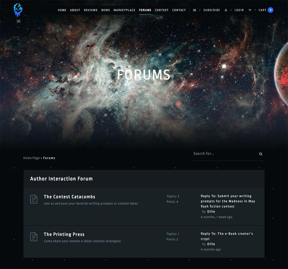 ArcShaper Beautiful Forum Page