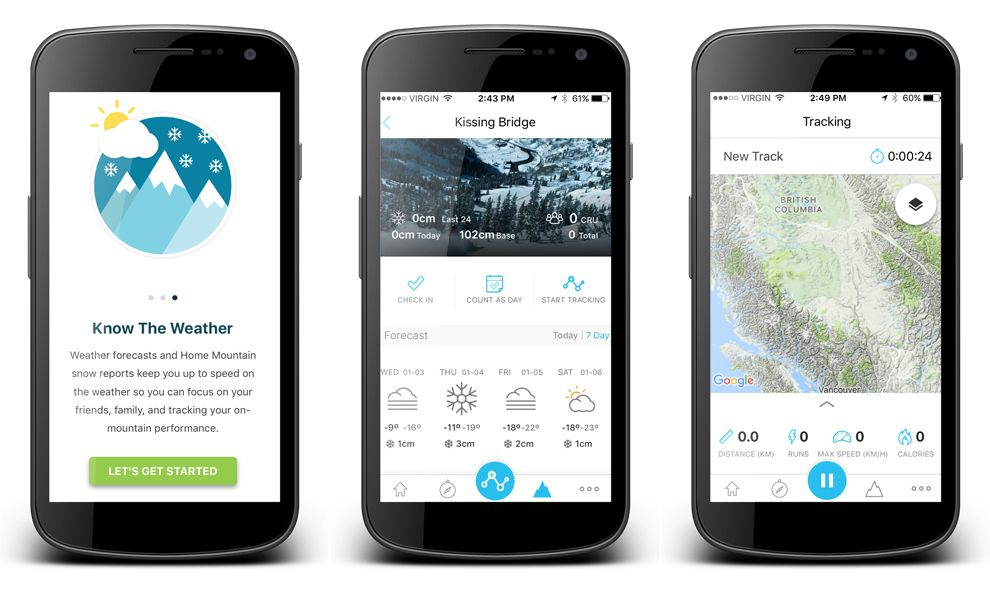 SNOCRU Modern App Design
