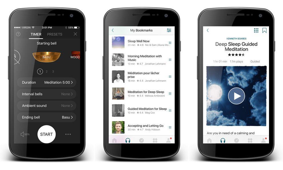 Insight Timer Best App Design